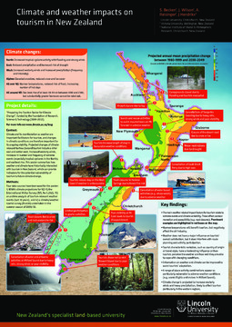 Climate and weather impacts on tourism in New Zealand